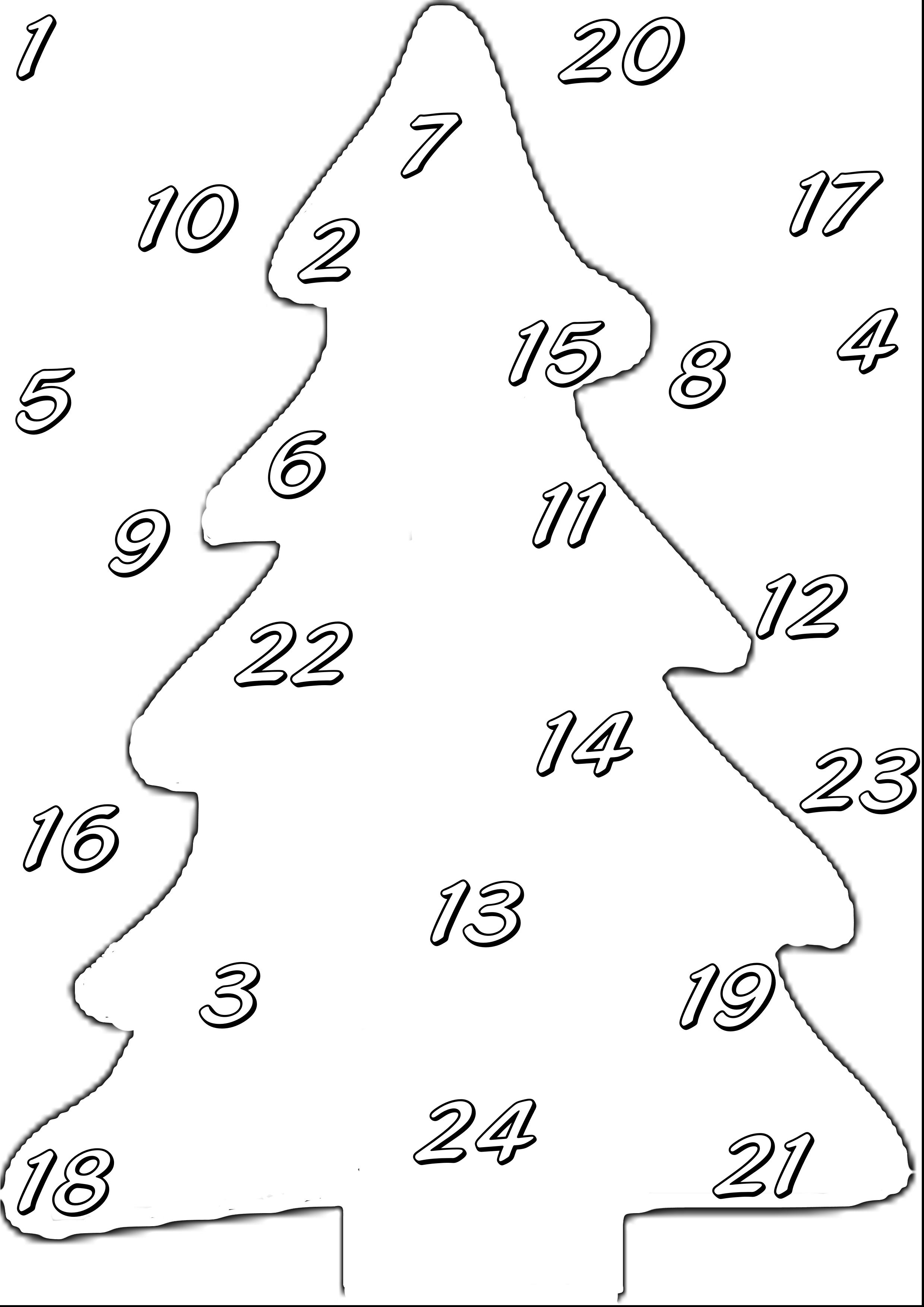 Il Calendario Dellavvento Da Colorare My Mei Tai